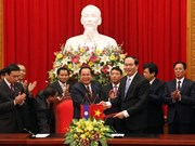Vietnam, Laos agree to intensify security cooperation